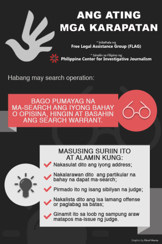PCIJ. Search Ops.Know Your Rights 4